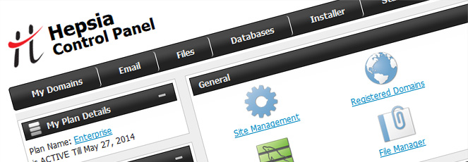 Website Hosting Control Panel